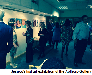 'Jessica Martin's Picture Palace' Art Exhibition