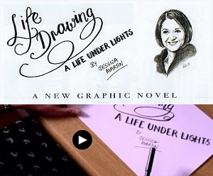 Jessica Martin's 'Life Drawing - A Life Under Lights' Graphic Memoir